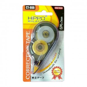 HIPPO CORR TAPE CT-800 8MX5mm