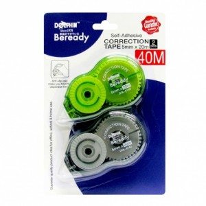 DOLPHIN 8140 CORRECTION TAPE 5MM X 20M  2S