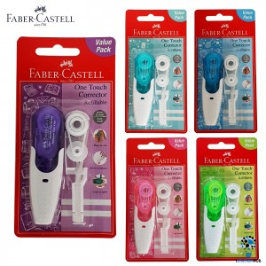 FABER CASTELL 169207 ONE TOUCH CORR TAPE