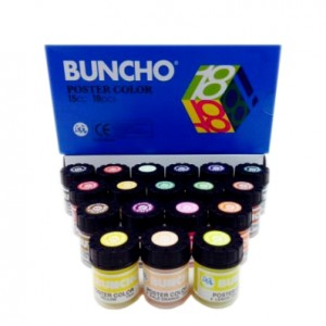 BUNCHO 18 POSTER COLOR