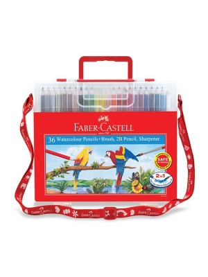 FABER CASTELL 114566 WCOL. PENCIL(36)WBOX