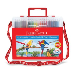 FABER CASTELL 114568 WCOL. PENCIL(48)WBOX