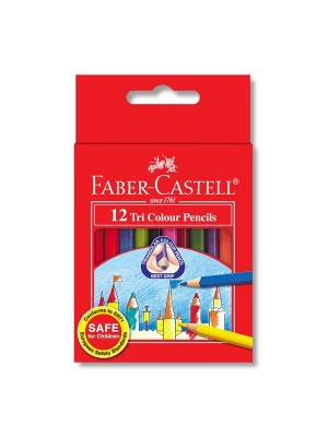 FABER CASTELL  115832 TRI-GRIP CPENCIL-12S