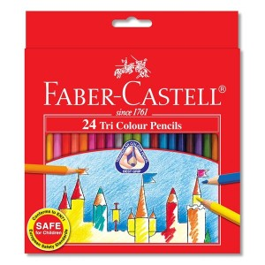 FABER CASTELL 115834 TRI-GRIP CPENCIL-24