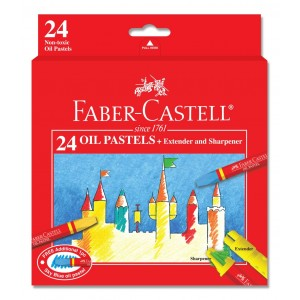 FABER CASTELL 121224 OIL PASTEL