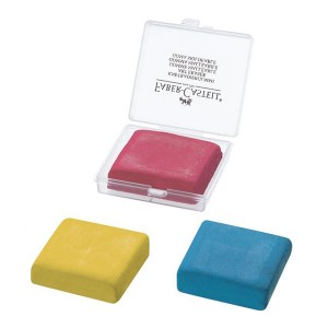 FABER CASTELL 127321L KNEADABLE ERASER(COL)