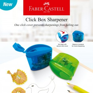 FABER CASTELL 584603 CLICK BOX SHARPENER