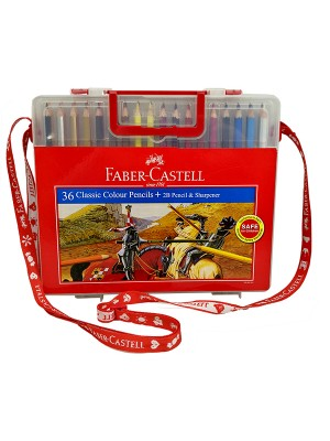 FABER CASTELL 114576 CLASSIC COL PENCIL(36)WITH BOX