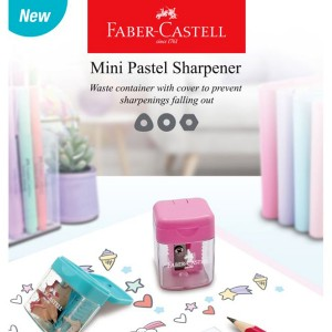 FABER CASTELL 584601 MINI PASTEL SHARPENERx2