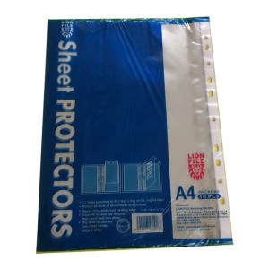 LION 402A PP SHEET PROTECTOR