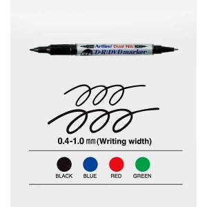 ARTLINE 841T CD-R MARKER - BLACK