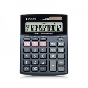 CANON LS-120RS-S CALCULATOR