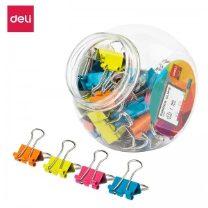 DELI COLOUR BINDER CLIPS
