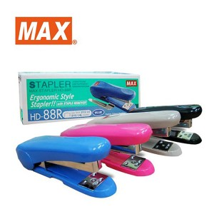 MAX HD-88R STAPLER WITH STAPLE REMOVER