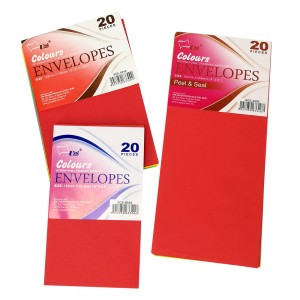 UNI COLOUR ENVELOPES, 20'S