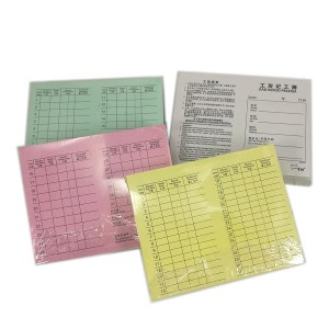 WAGES CARD