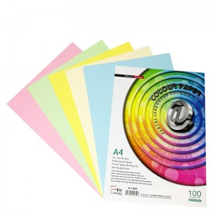 UNI S1300 PASTEL COLOUR PAPER