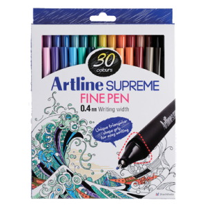 ARTLINE EPFS-200/30W SUPREME FINE PEN SET