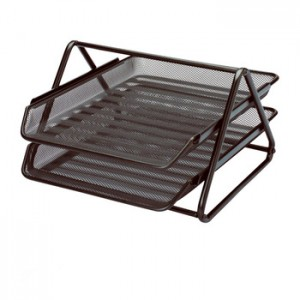 2 TIER WIRE METAL TRAY
